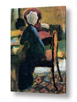 אמנים מפורסמים אוגוסט מקה | August Macke 098