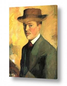 אמנים מפורסמים אוגוסט מקה | August Macke 100