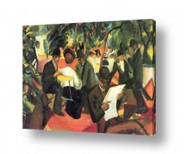 אמנים מפורסמים אוגוסט מקה | August Macke 101
