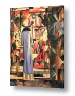 אמנים מפורסמים אוגוסט מקה | August Macke 102