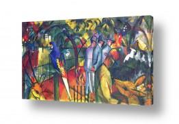 אמנים מפורסמים אוגוסט מקה | August Macke 104