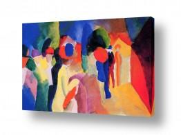 אמנים מפורסמים אוגוסט מקה | August Macke 105