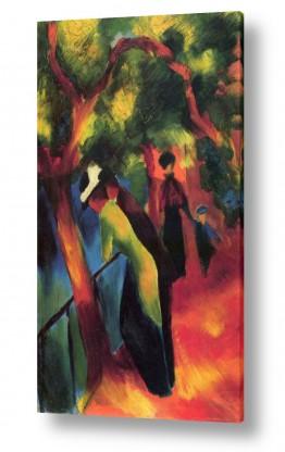 אמנים מפורסמים אוגוסט מקה | August Macke 106