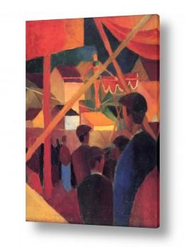 אמנים מפורסמים אוגוסט מקה | August Macke 107