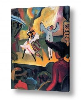 אמנים מפורסמים אוגוסט מקה | August Macke 108