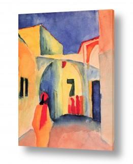 אמנים מפורסמים אוגוסט מקה | August Macke 109