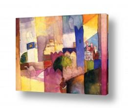 אמנים מפורסמים אוגוסט מקה | August Macke 110