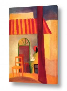 אמנים מפורסמים אוגוסט מקה | August Macke 111