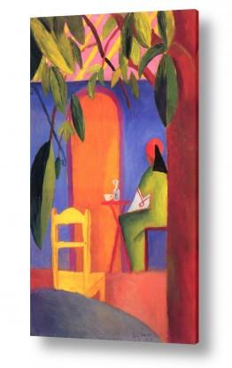 אמנים מפורסמים אוגוסט מקה | August Macke 112