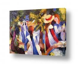 אמנים מפורסמים אוגוסט מקה | August Macke 113