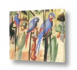 אמנים מפורסמים אוגוסט מקה | August Macke 114