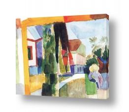 אמנים מפורסמים אוגוסט מקה | August Macke 115
