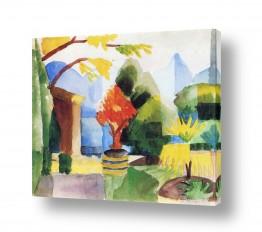 אמנים מפורסמים אוגוסט מקה | August Macke 116
