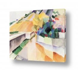 אמנים מפורסמים אוגוסט מקה | August Macke 118