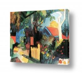 אמנים מפורסמים אוגוסט מקה | August Macke 119