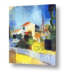 אמנים מפורסמים אוגוסט מקה | August Macke 120