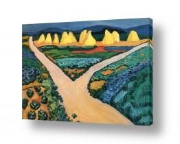 אמנים מפורסמים אוגוסט מקה | August Macke 125