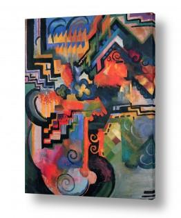 אמנים מפורסמים אוגוסט מקה | August Macke 126