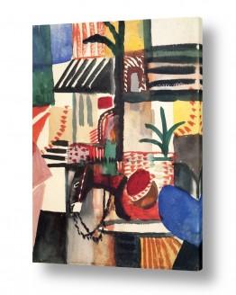 אמנים מפורסמים אוגוסט מקה | August Macke 127