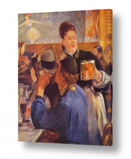 אמנים מפורסמים אדואר מנה | Édouard Manet 004