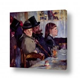אמנים מפורסמים אדואר מנה | Édouard Manet 008