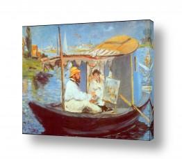אמנים מפורסמים אדואר מנה | Édouard Manet 011