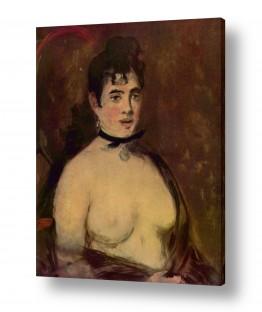אמנים מפורסמים אדואר מנה | Édouard Manet 016