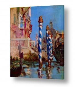 אמנים מפורסמים אדואר מנה | Édouard Manet 017