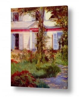 אמנים מפורסמים אדואר מנה | Édouard Manet 019