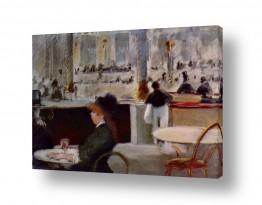 אמנים מפורסמים אדואר מנה | Édouard Manet 020