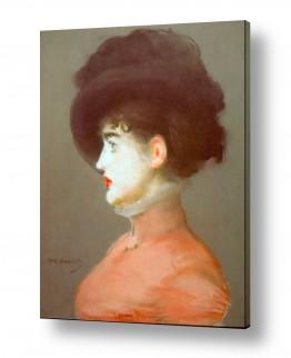 אמנים מפורסמים אדואר מנה | Édouard Manet 021