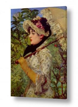 אמנים מפורסמים אדואר מנה | Édouard Manet 022