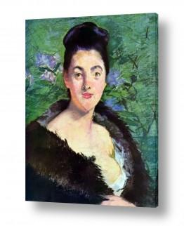 אמנים מפורסמים אדואר מנה | Édouard Manet 023