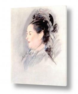 אמנים מפורסמים אדואר מנה | Édouard Manet 024