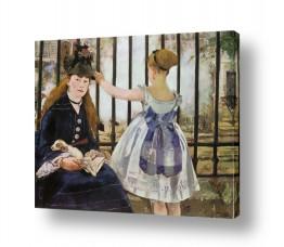 אמנים מפורסמים אדואר מנה | Édouard Manet 025