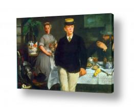 אמנים מפורסמים אדואר מנה | Édouard Manet 026