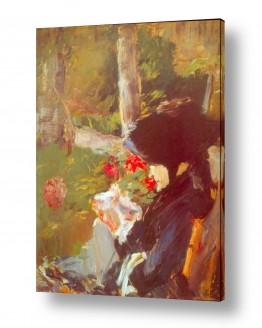 אמנים מפורסמים אדואר מנה | Édouard Manet 028