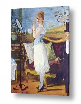 אמנים מפורסמים אדואר מנה | Édouard Manet 030