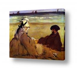 אמנים מפורסמים אדואר מנה | Édouard Manet 031