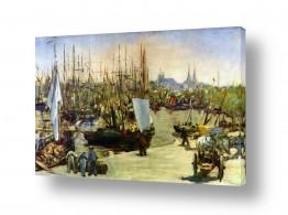 אמנים מפורסמים אדואר מנה   Édouard Manet 033