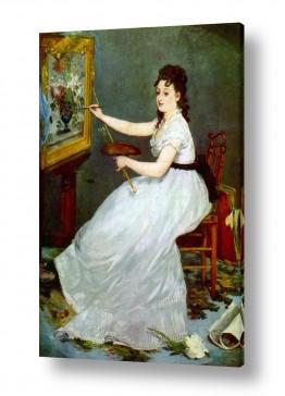 אמנים מפורסמים אדואר מנה   Édouard Manet 034