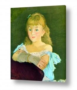 אמנים מפורסמים אדואר מנה   Édouard Manet 035