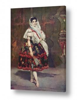 אמנים מפורסמים אדואר מנה   Édouard Manet 036