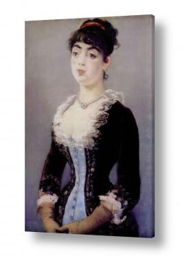 אמנים מפורסמים אדואר מנה   Édouard Manet 037