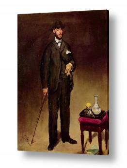 אמנים מפורסמים אדואר מנה   Édouard Manet 038