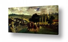 אמנים מפורסמים אדואר מנה   Édouard Manet 039