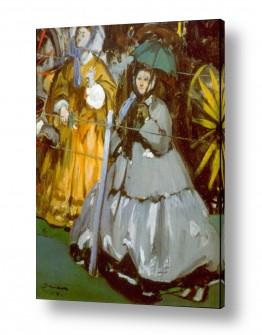 אמנים מפורסמים אדואר מנה   Édouard Manet 040