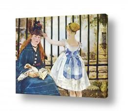 אמנים מפורסמים אדואר מנה   Édouard Manet 042