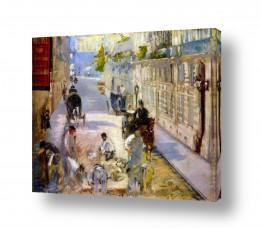 אמנים מפורסמים אדואר מנה   Édouard Manet 044