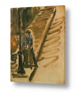 אמנים מפורסמים אדואר מנה   Édouard Manet 045
